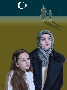 Fatemah and Bana al-Abed